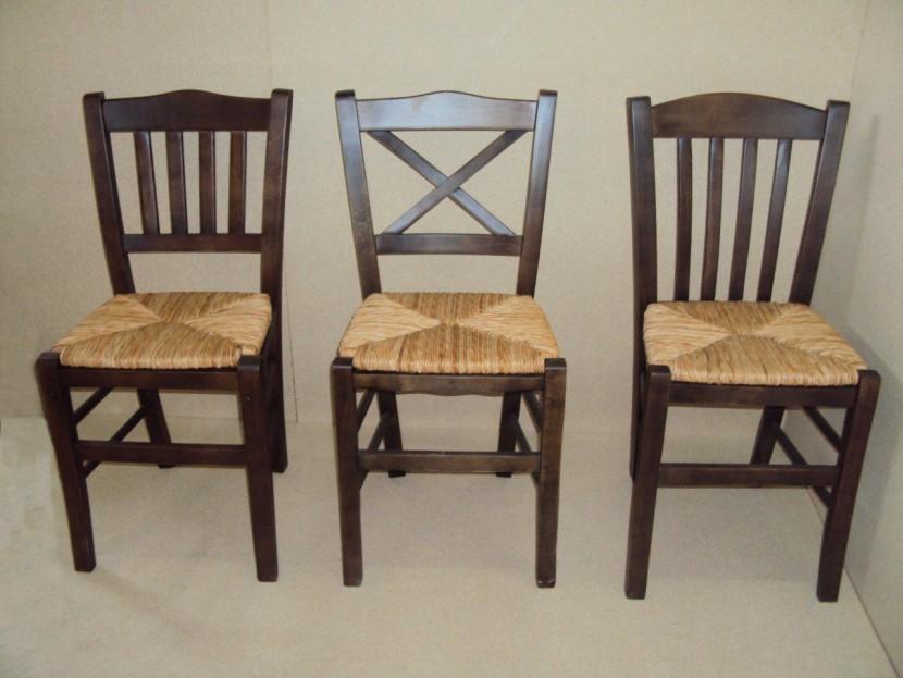 Καρέκλα Σίκινος, Χίος, Ιμβρος Καρέκλα Καφενείου Εστιατορίου Ταβέρνας Καφετέριας (38Χ42Χ87) από 19€
