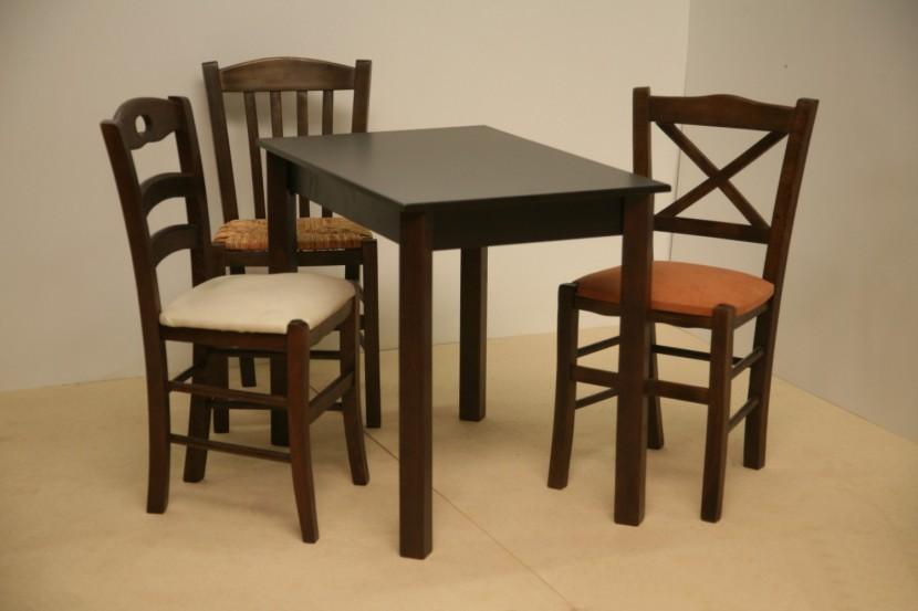 Τραπέζι Ξύλινο Παραδοσιακό (60Χ80) Καφενείου Εστιατορίου Ταβέρνας Καφετέριας Cafe Bar από 55€.