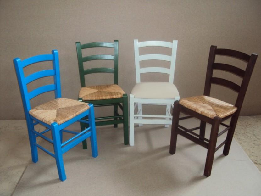 Καρέκλα Σίφνος Καφενείου Εστιατορίου Ταβέρνας (38Χ42Χ87) από 16€