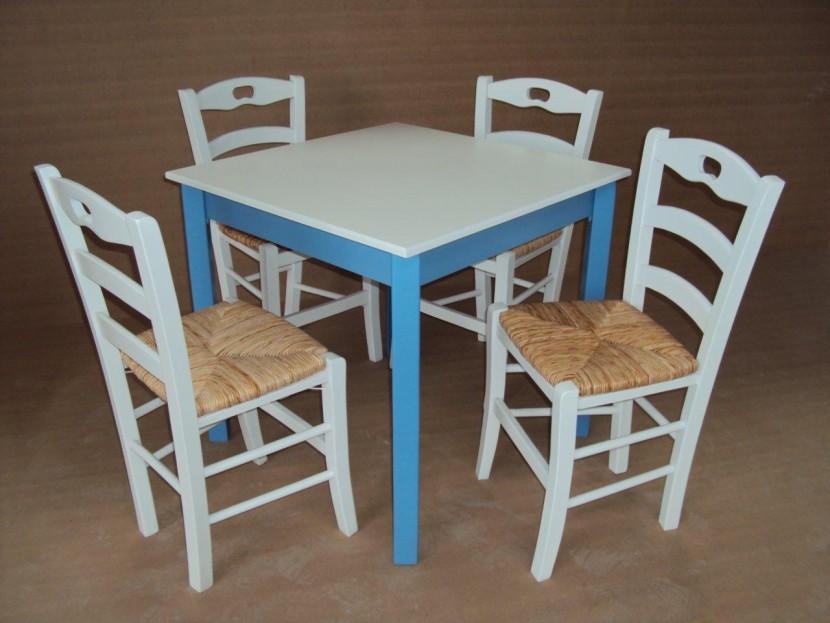 Τραπέζι Ξύλινο Παραδοσιακό Καφενείου Εστιατορίου Ταβέρνας Καφετέριας Cafe Bar (80Χ80) από 55€