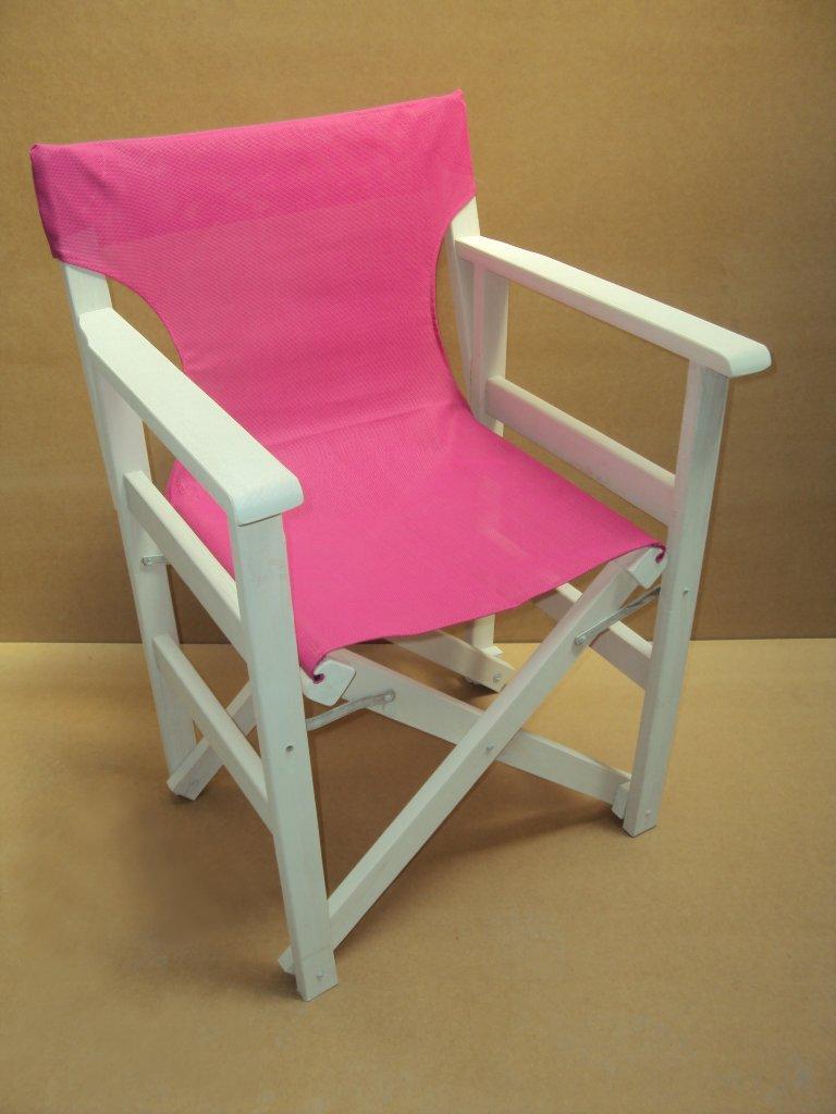 Επαγγελματική Καρέκλα Σκηνοθέτη από 25€ με Διάτρητο PVC από μασίφ ξύλο οξιάς ξηραντηρίου Καφενείου Εστιατορίου Ταβέρνας Καφετέριας Cafe Bar (size 89x57x54).