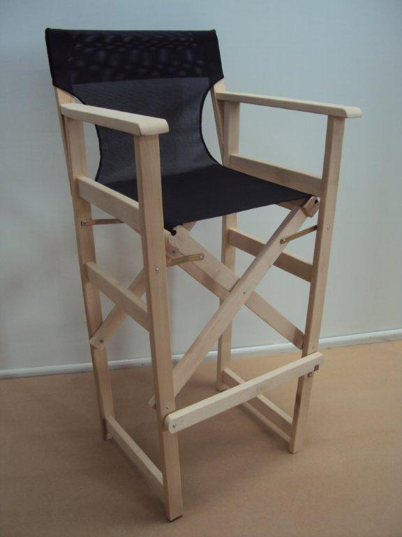 Σκαμπό Σκηνοθέτη από ξύλο οξιάς ξηραντηρίου (57Χ54Χ120), από 38€