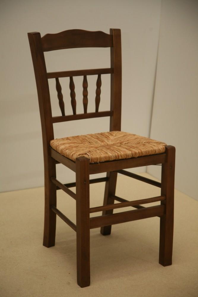 Η Επαγγελματική Παραδοσιακή Ξύλινη Καρέκλα Δήλος από 19€ ,Καρέκλα Καφενείου, Ταβέρνας, Εστιατορίου, Καφετέριας, Cafe Bar είναι κατασκευασμένη από Ελληνική Οξιά Ξηραντηρίου, size (42x38x87) .