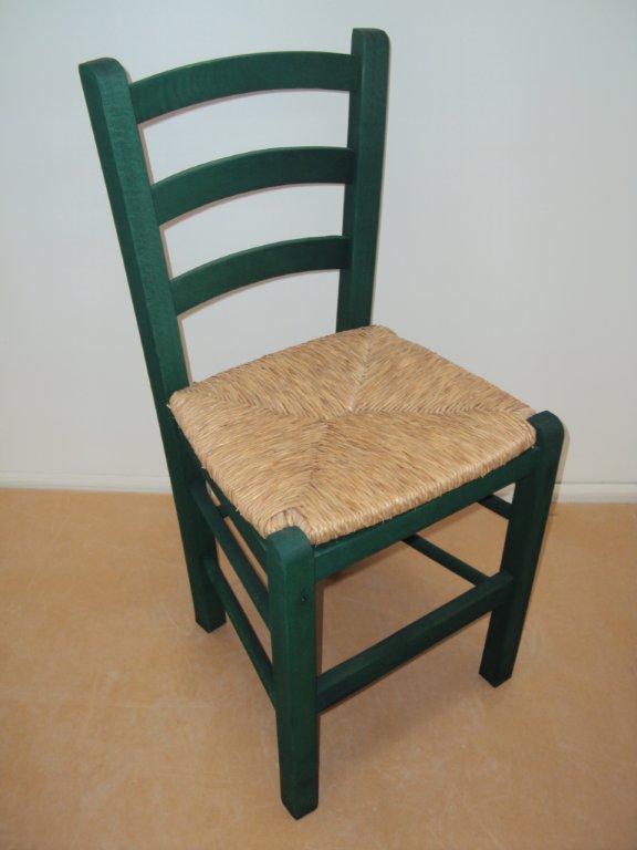 Επαγγελματική Παραδοσιακή Ξύλινη Καρέκλα Σίφνος Ταβέρνας Καφενείου Εστιατορίου Oυζερί Καφετέριας από 16€ (size 38Χ42Χ87)