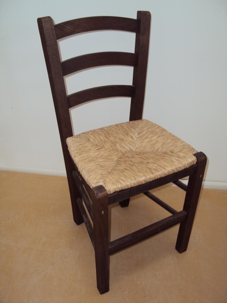 Επαγγελματική Παραδοσιακή Ξύλινη Καρέκλα Σίφνος Ταβέρνας Καφενείου Εστιατορίου Oυζερί Καφετέριας από 15,5€