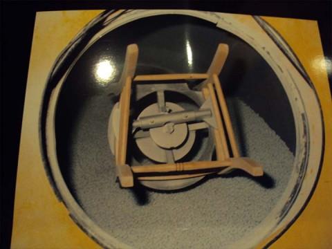Μηχάνημα επεξεργασίας ξύλου για καρέκλα