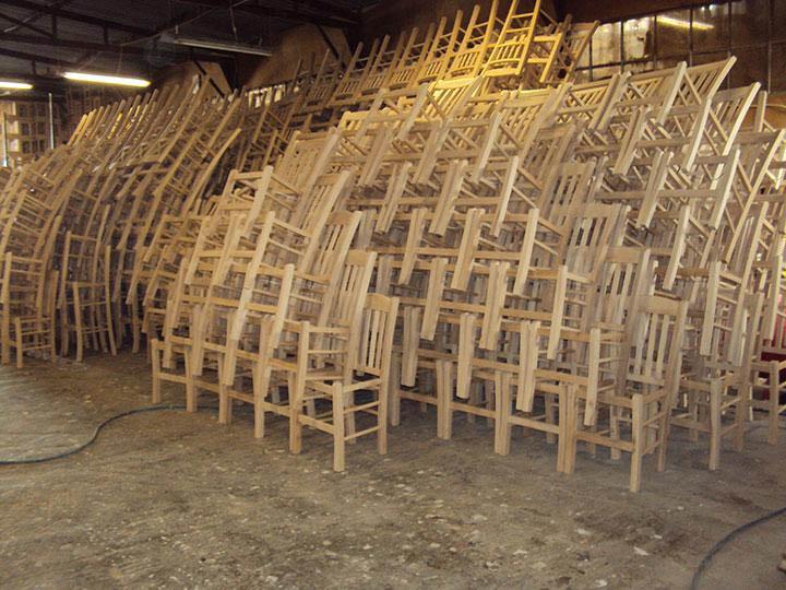 Εργοστάσιο Ζαμπούκας – Κατασκευή Νέων Καρεκλών
